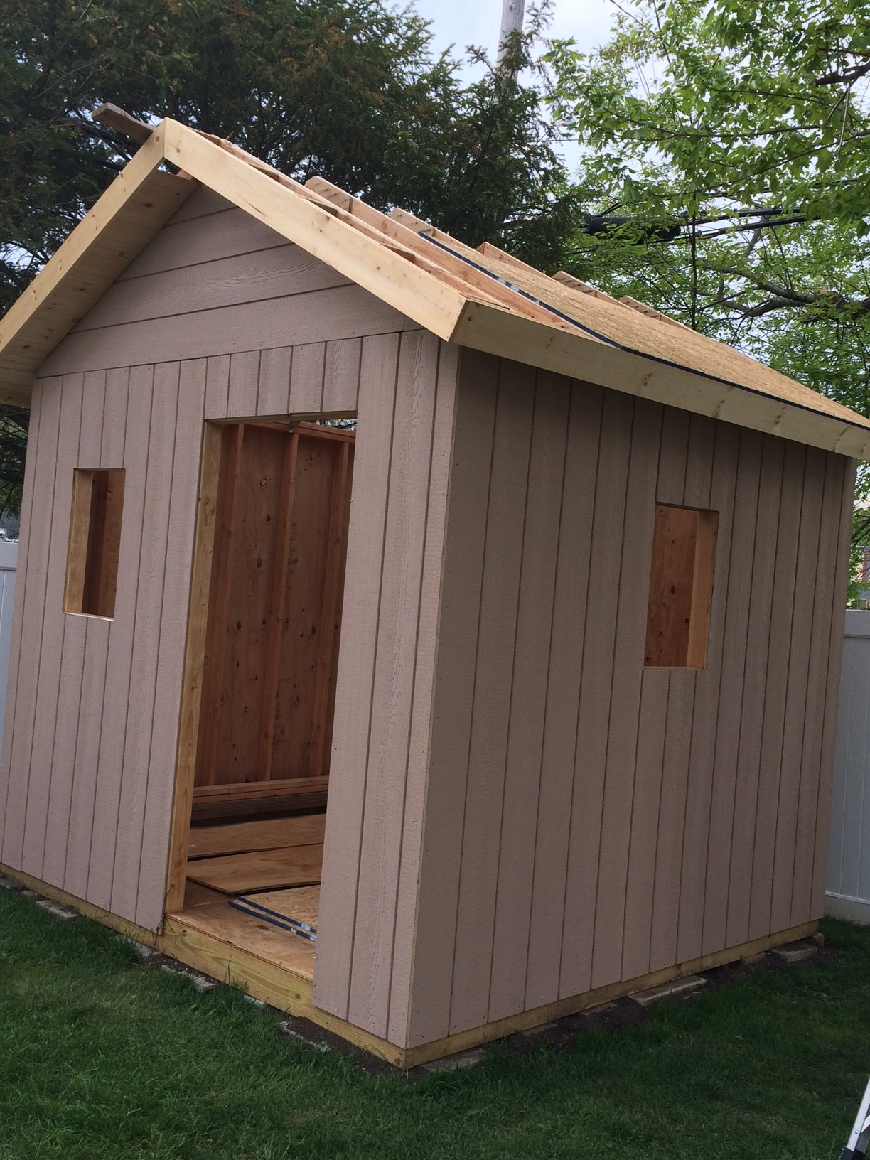 Me And My Wife Project Shed