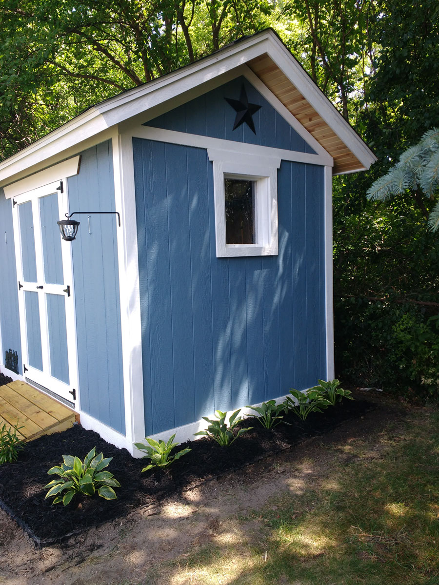 My 8x12 dream shed country life projects for Shed project
