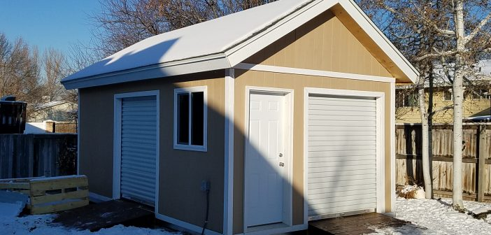 Dream shed 20′ x 12′