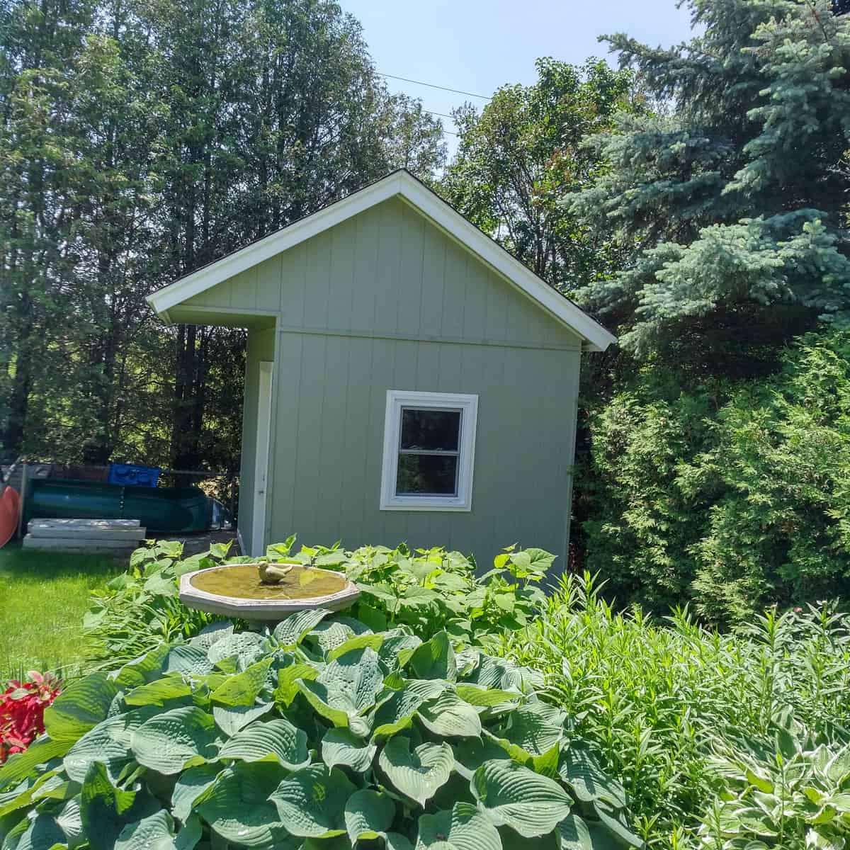 9 X 12 Shed