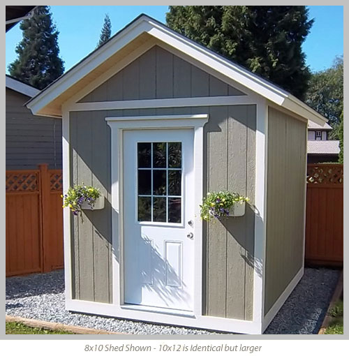 10 X 12 Shed Plans Country Life Projects